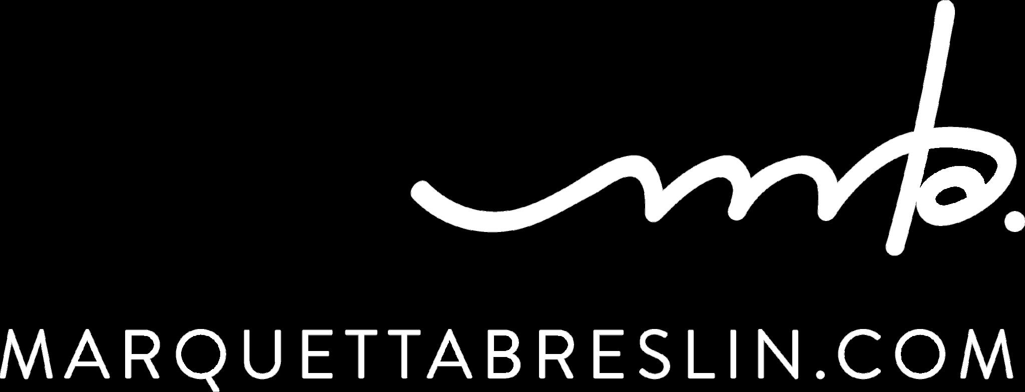 Marquetta Breslin Logo White
