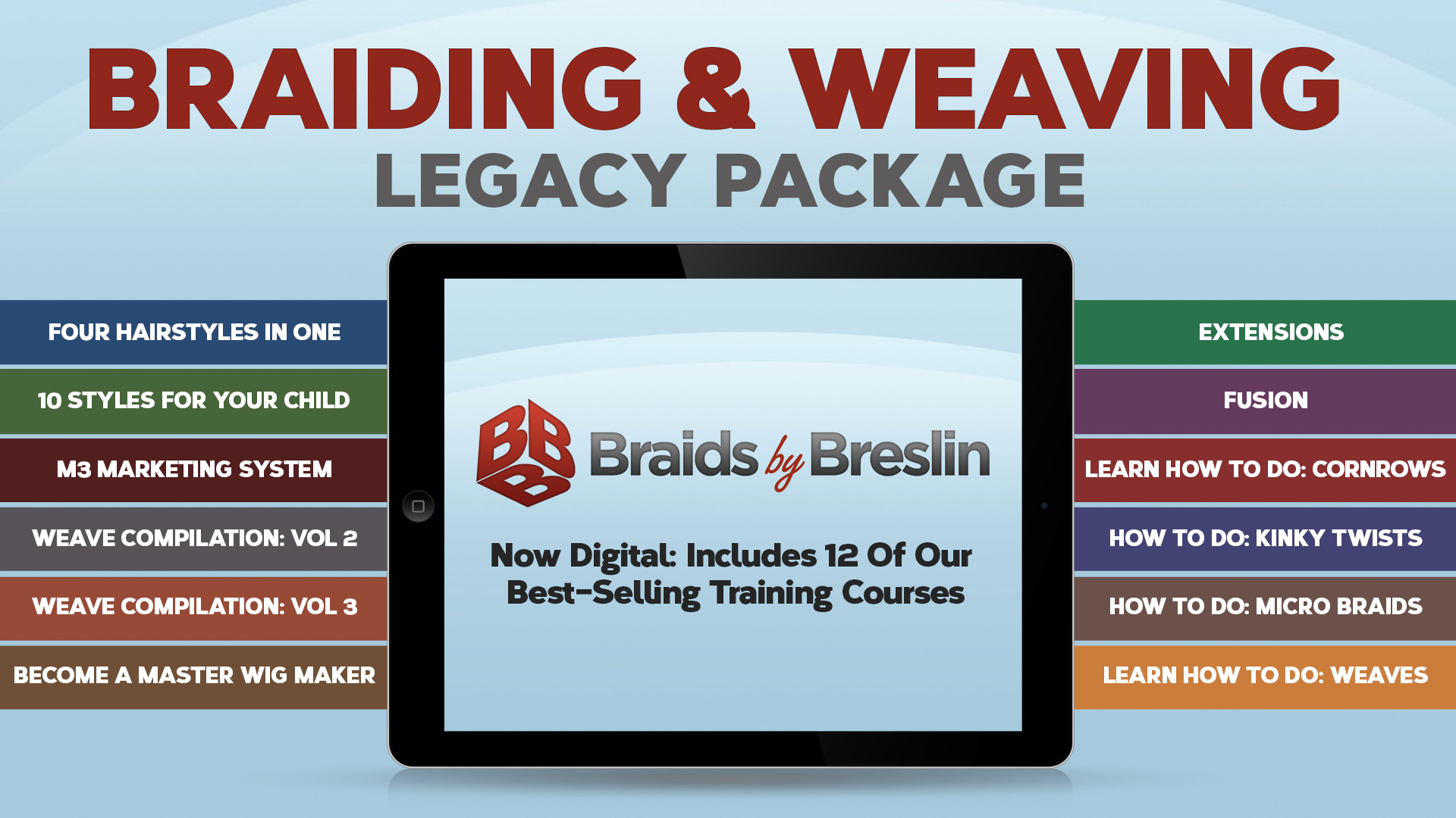 Marquetta Breslin's Braiding & Weaving Package (Legacy Edition)