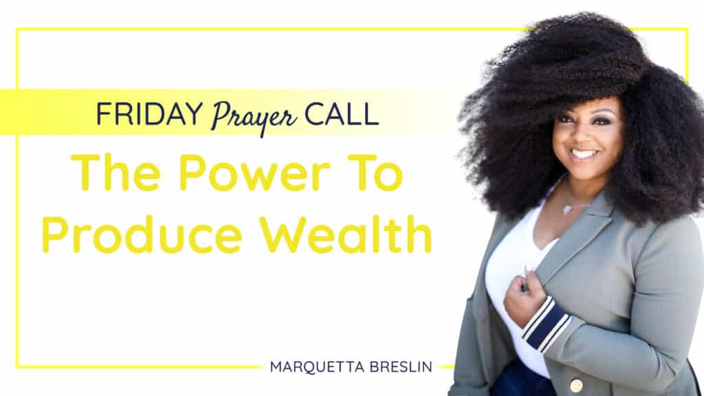 The Power To Produce Wealth
