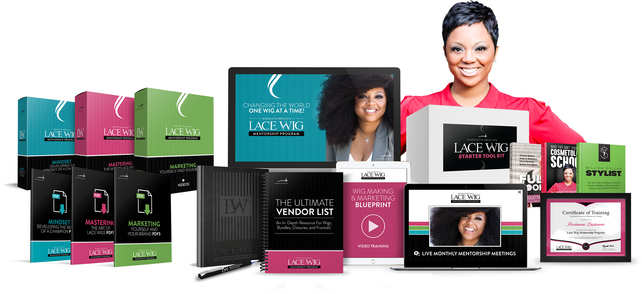 Lace Wig Mentorship Program