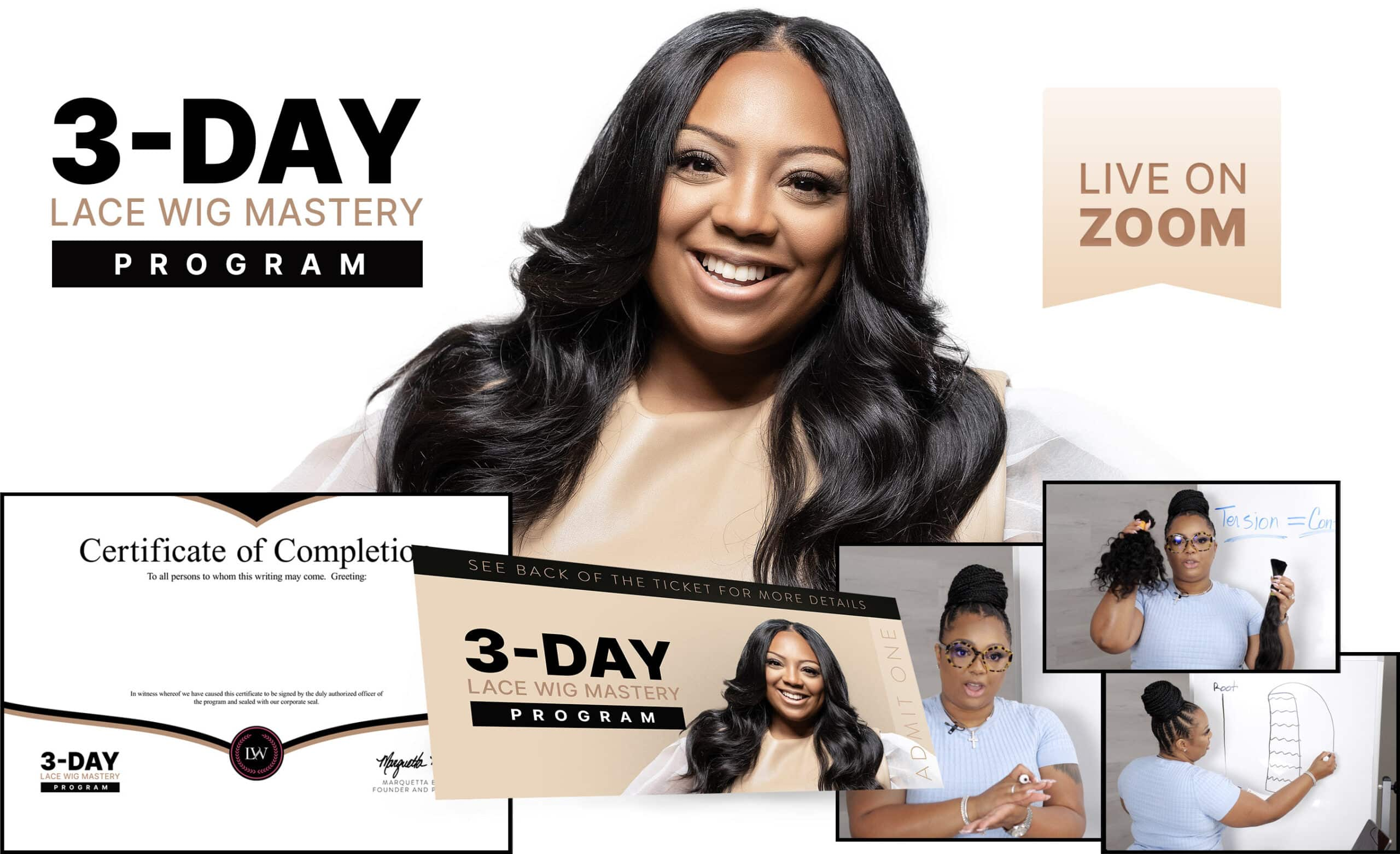 Lace Wig 3-Day Program