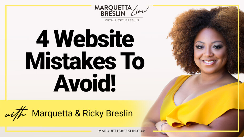 4 Website Mistakes To Avoid | Episode 11 6
